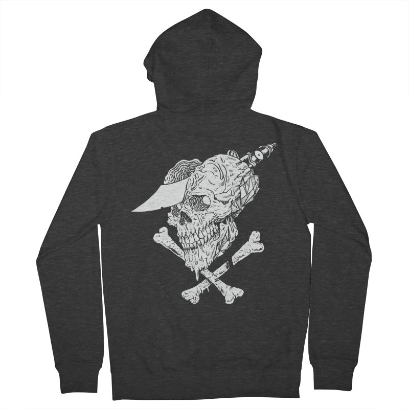 HUESO Men's Zip-Up Hoody by aziritt's Artist Shop