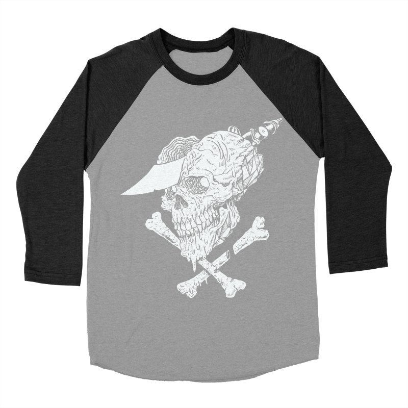 HUESO Women's Baseball Triblend Longsleeve T-Shirt by aziritt's Artist Shop