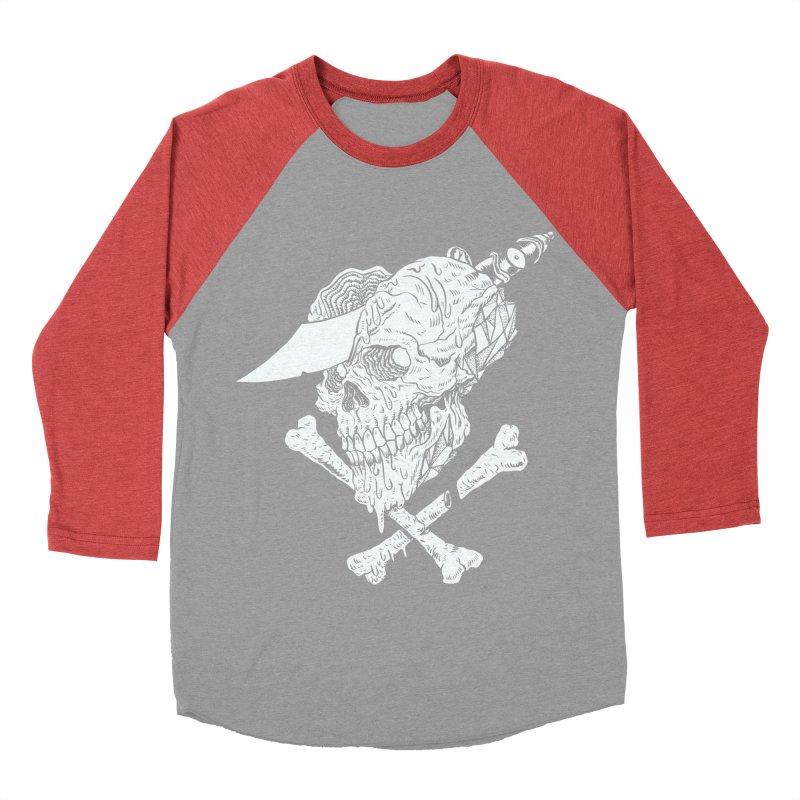 HUESO Men's Baseball Triblend Longsleeve T-Shirt by Alexis Ziritt