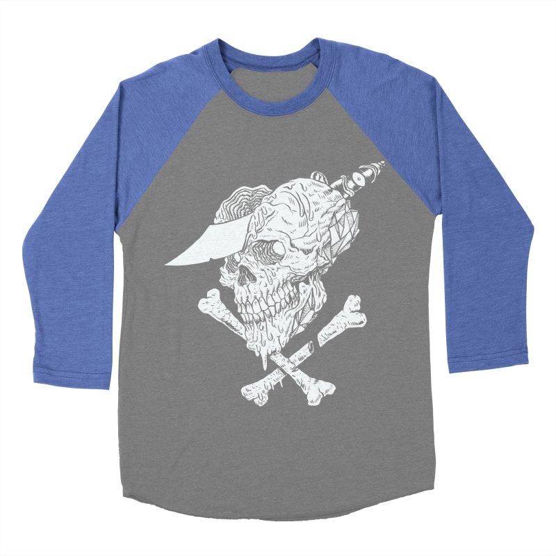 HUESO Men's Baseball Triblend Longsleeve T-Shirt by aziritt's Artist Shop