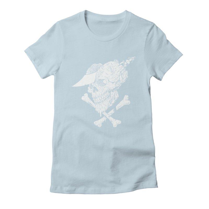 HUESO Women's Fitted T-Shirt by aziritt's Artist Shop
