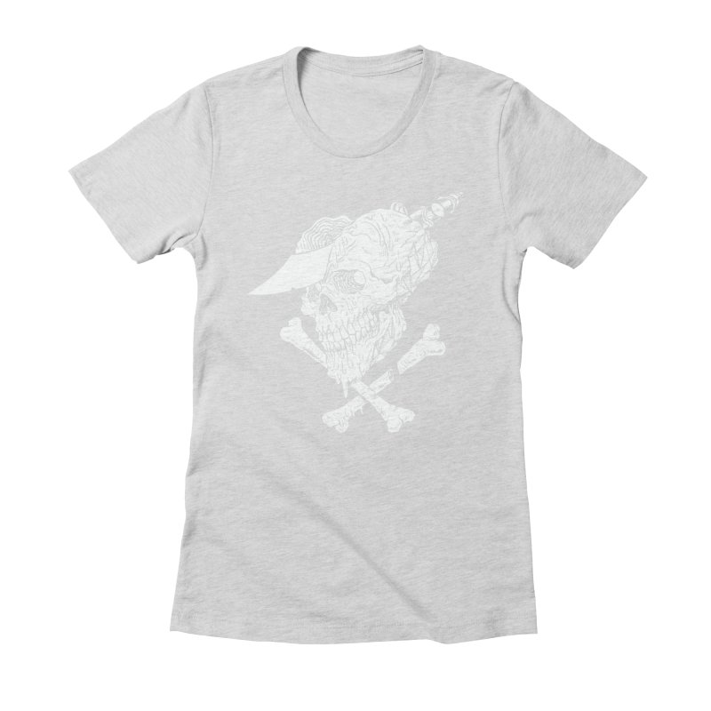 HUESO Women's Fitted T-Shirt by Alexis Ziritt