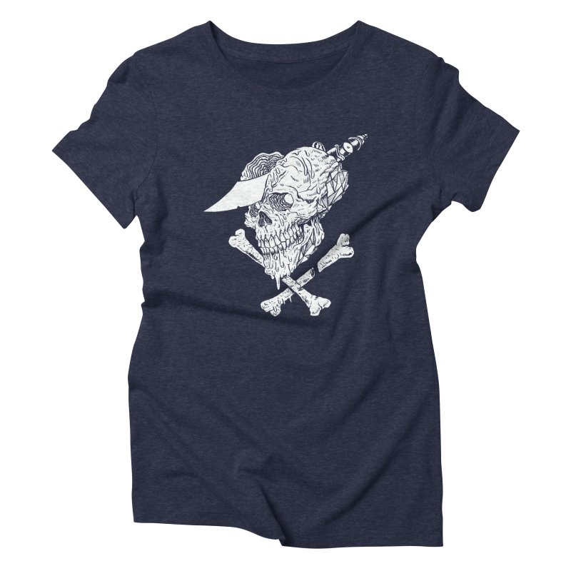 HUESO Women's Triblend T-Shirt by Alexis Ziritt