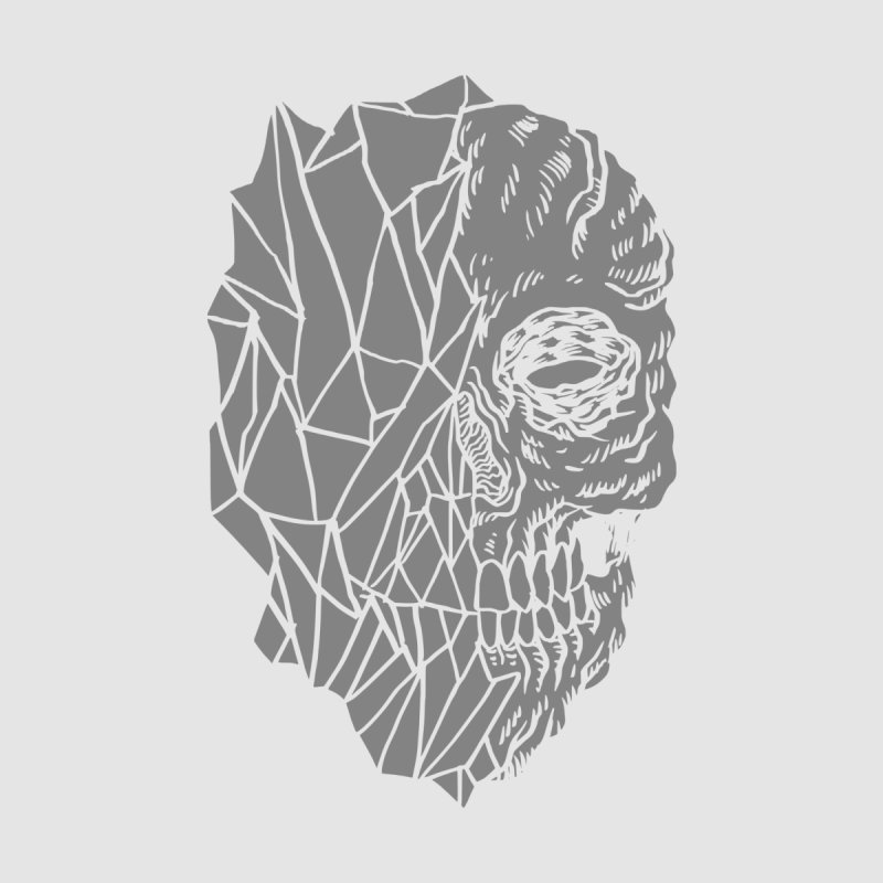Crystal Skull Men's Longsleeve T-Shirt by Alexis Ziritt