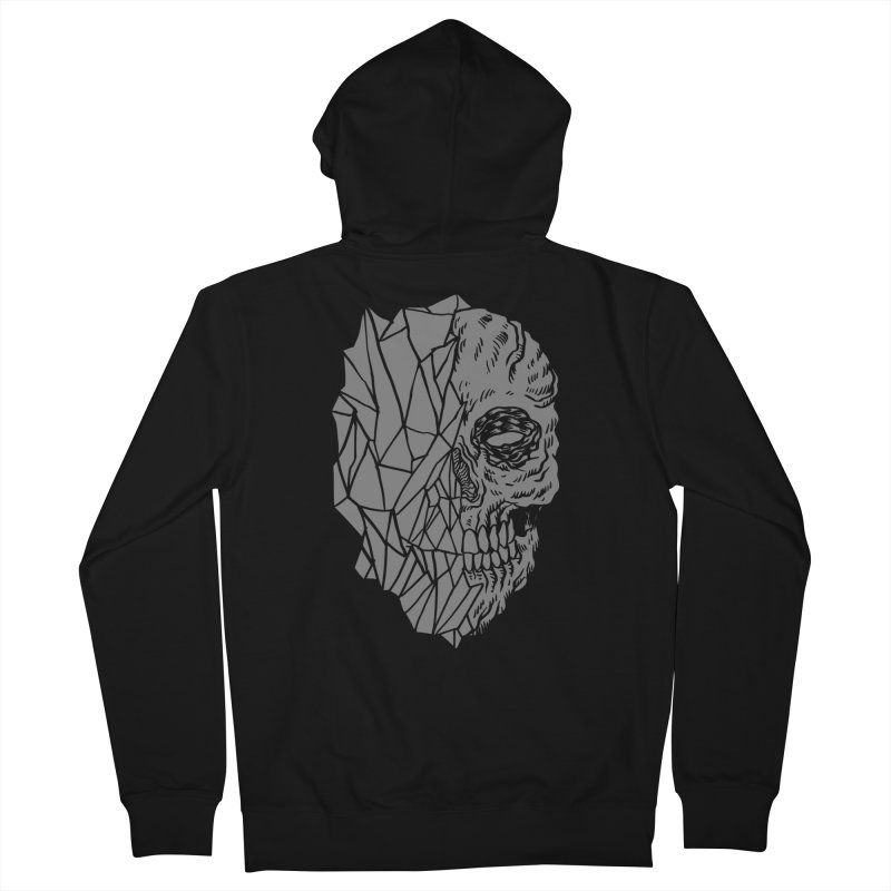 Crystal Skull Women's Zip-Up Hoody by Alexis Ziritt