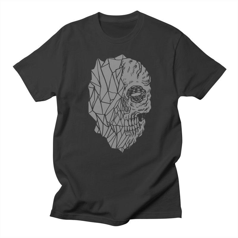 Crystal Skull Men's T-Shirt by Alexis Ziritt