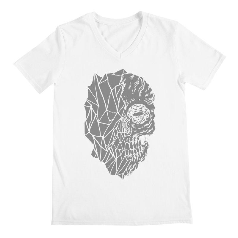 Crystal Skull Men's V-Neck by Alexis Ziritt