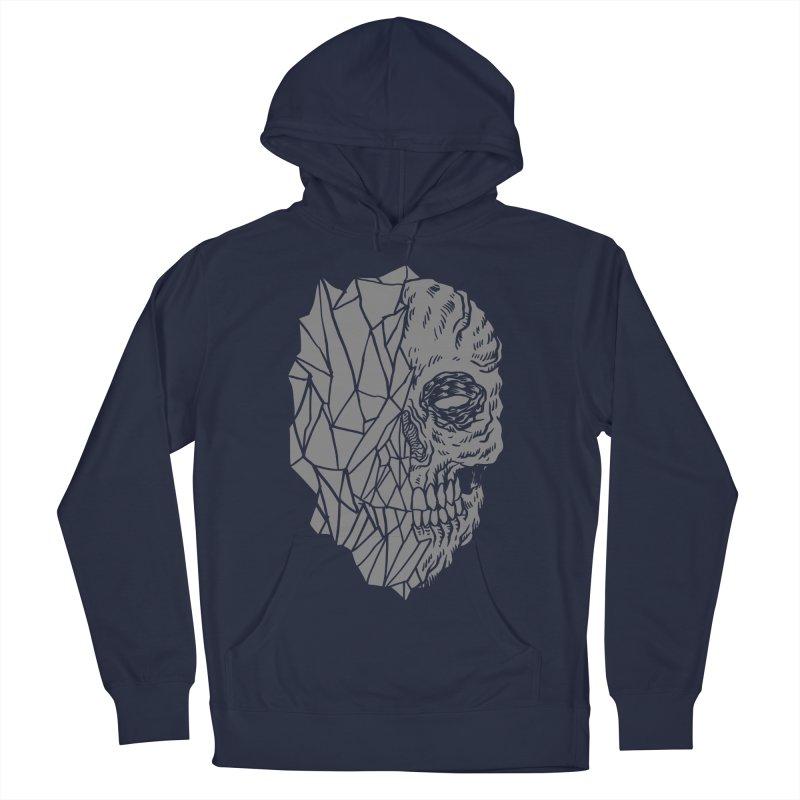 Crystal Skull Men's Pullover Hoody by aziritt's Artist Shop