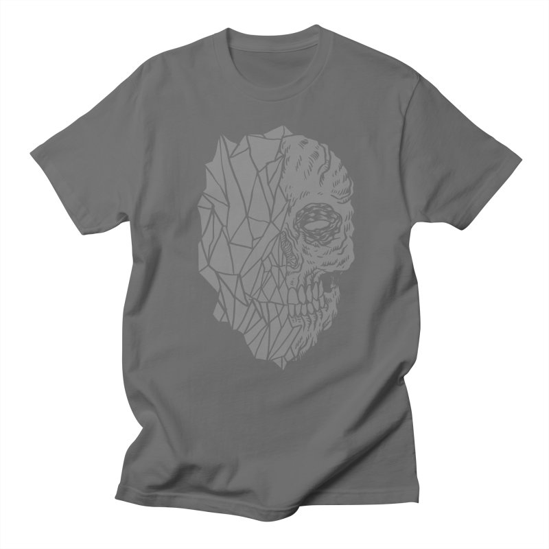 Crystal Skull Men's T-Shirt by Alexis Ziritt