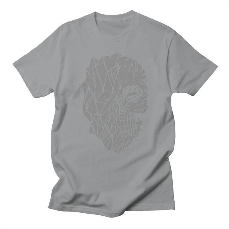 Crystal Skull Men's Regular T-Shirt by aziritt's Artist Shop