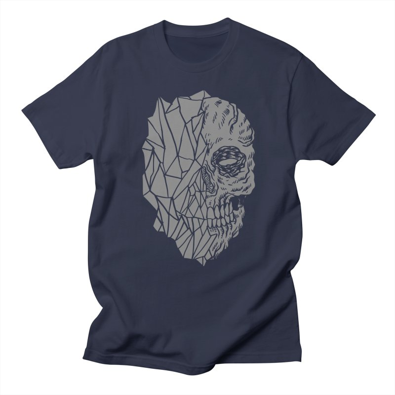 Crystal Skull Men's T-shirt by aziritt's Artist Shop