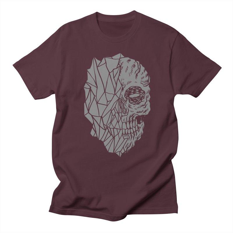 Crystal Skull Men's Regular T-Shirt by Alexis Ziritt