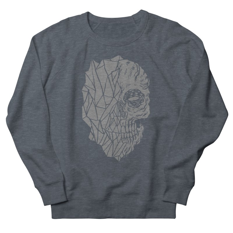 Crystal Skull Men's Sweatshirt by aziritt's Artist Shop