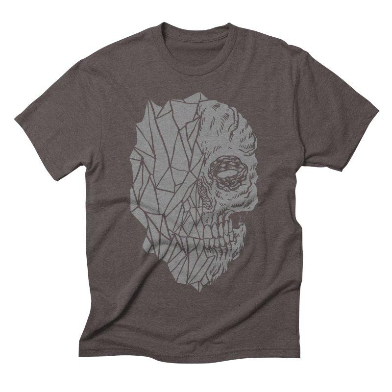 Crystal Skull Men's Triblend T-shirt by aziritt's Artist Shop