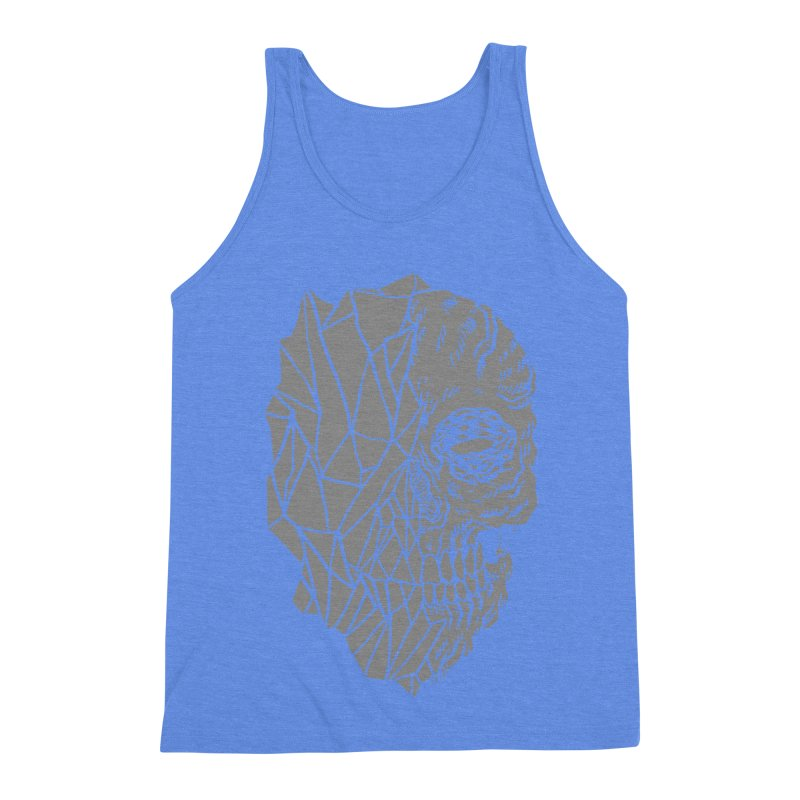 Crystal Skull Men's Triblend Tank by Alexis Ziritt
