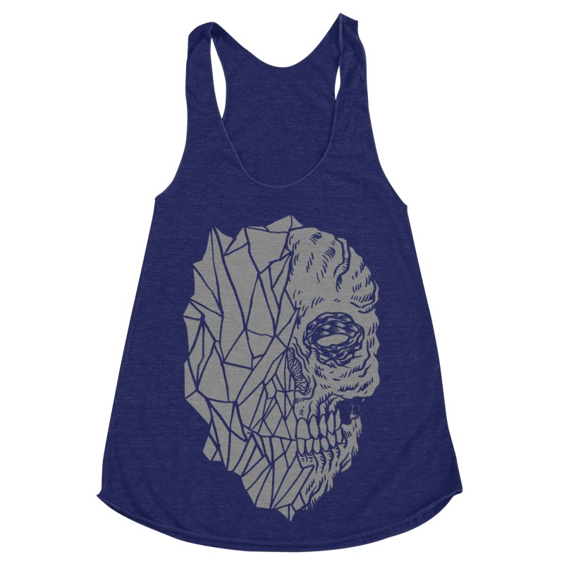 Crystal Skull Women's Tank by Alexis Ziritt