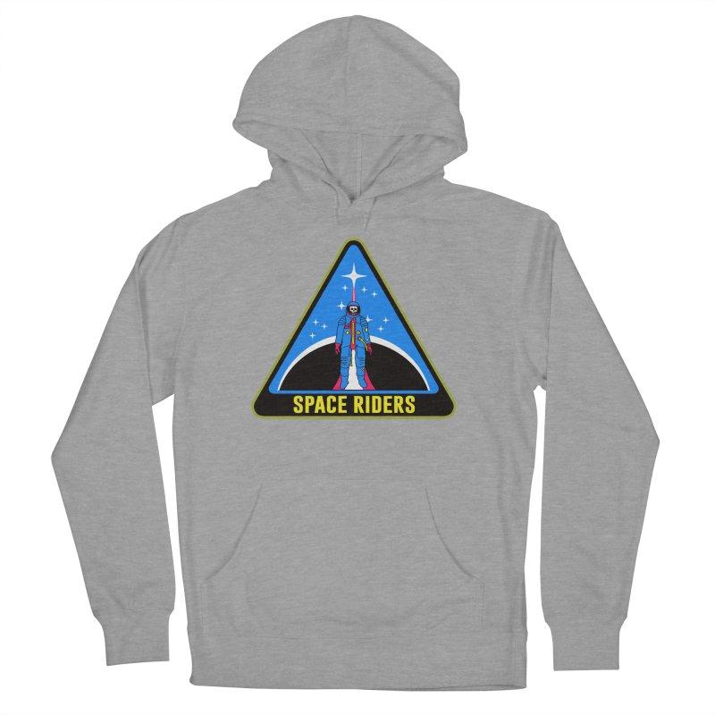 Space Riders (Logo) Men's Pullover Hoody by aziritt's Artist Shop