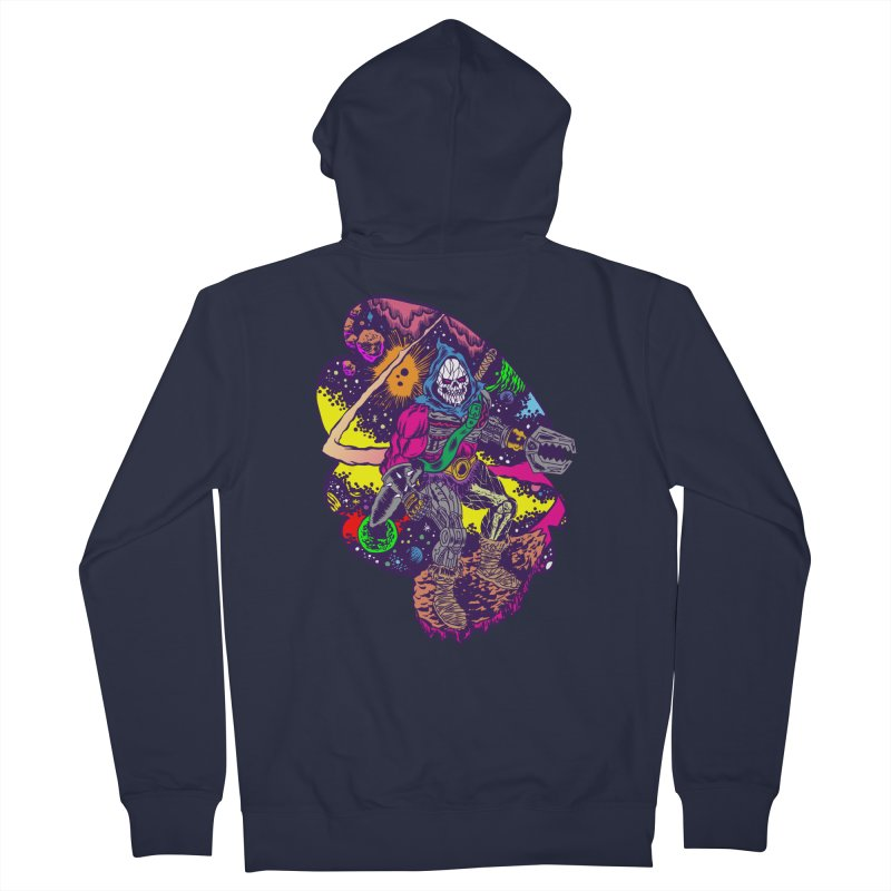 Space Wizard Men's Zip-Up Hoody by aziritt's Artist Shop