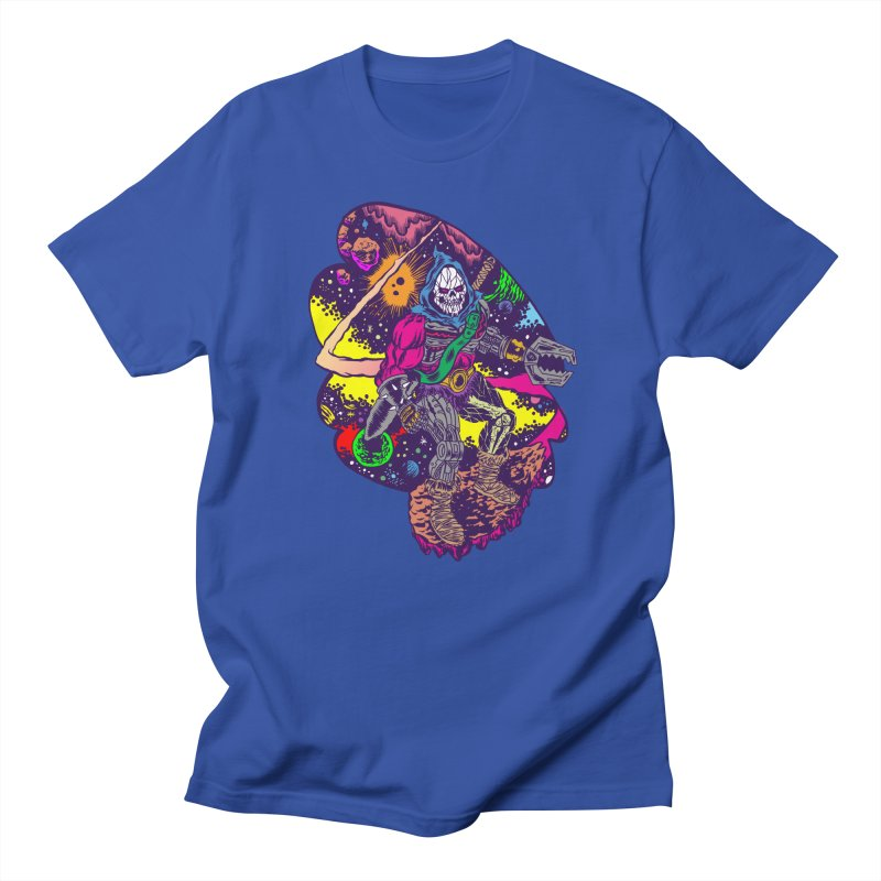 Space Wizard in Men's T-Shirt Royal Blue by aziritt's Artist Shop