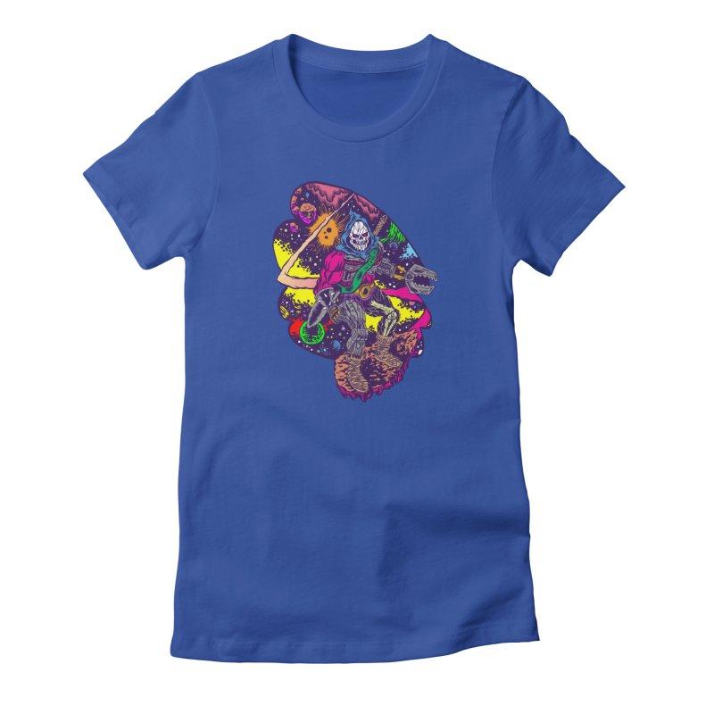 Space Wizard Women's T-Shirt by Alexis Ziritt