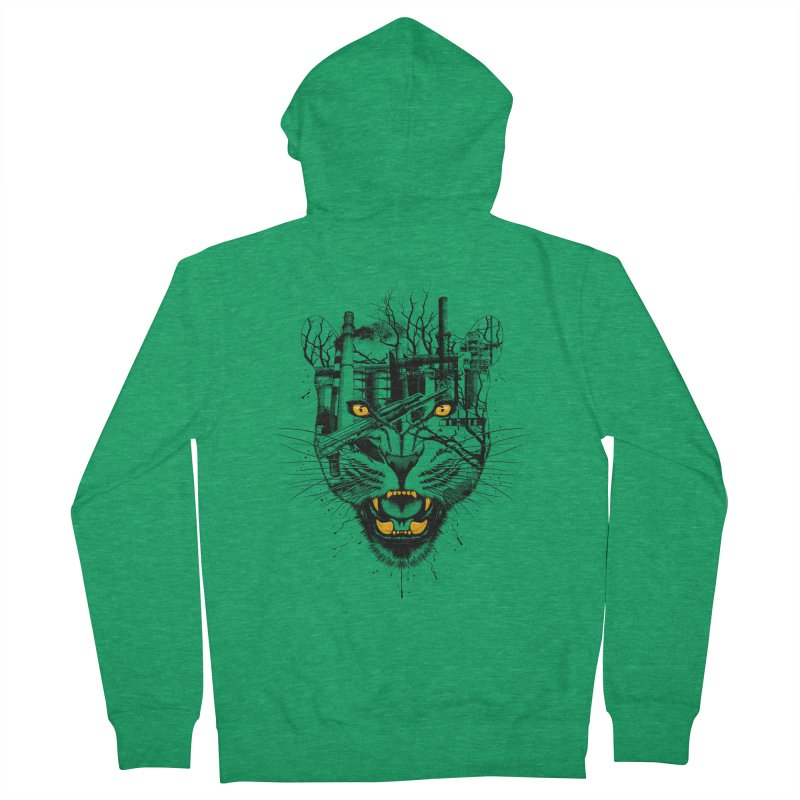 Our Nature Women's Zip-Up Hoody by azrhon's Artist Shop