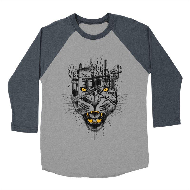 Our Nature Men's Baseball Triblend T-Shirt by azrhon's Artist Shop