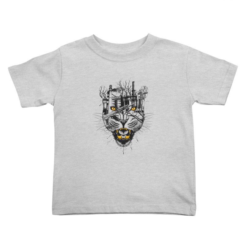 Our Nature Kids Toddler T-Shirt by azrhon's Artist Shop