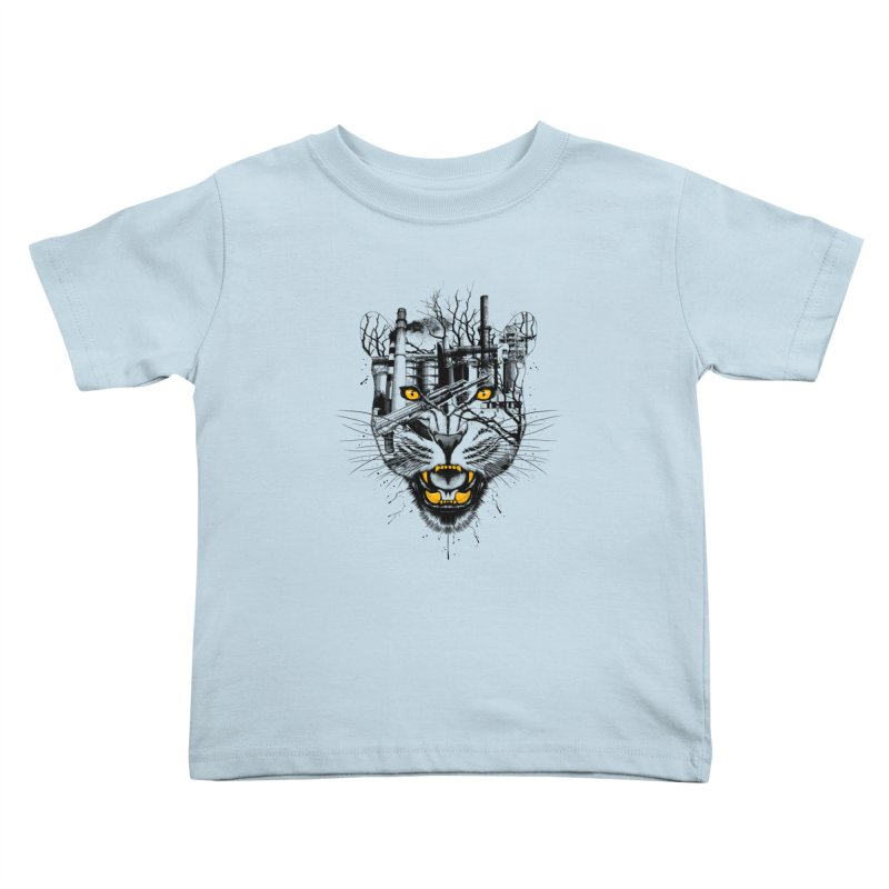 Our Nature Kids Toddler T-Shirt by azrhon's Artist Shop