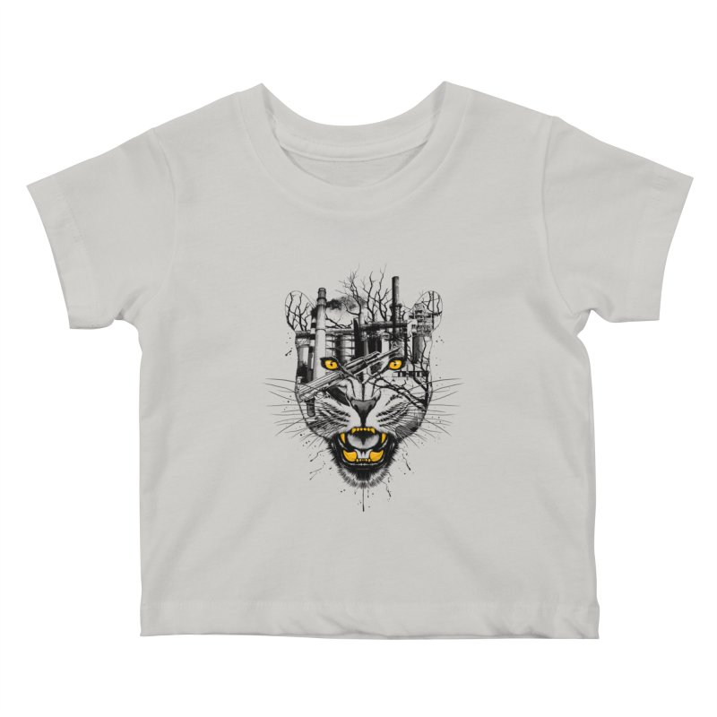 Our Nature Kids Baby T-Shirt by azrhon's Artist Shop