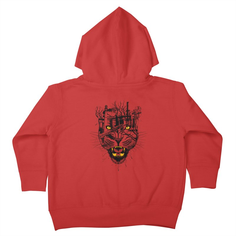 Our Nature Kids Toddler Zip-Up Hoody by azrhon's Artist Shop