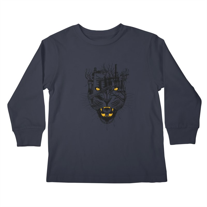 Our Nature Kids Longsleeve T-Shirt by azrhon's Artist Shop