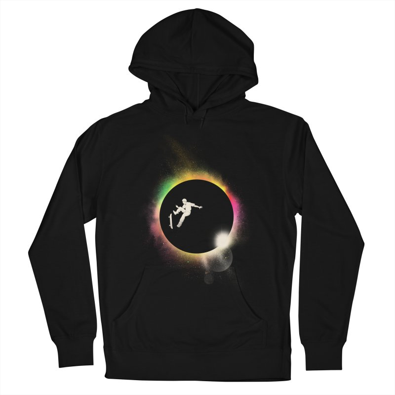 Skate Eclipse Women's Pullover Hoody by azrhon's Artist Shop