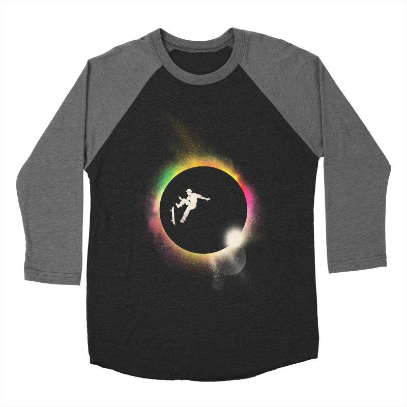 Skate Eclipse Women's Baseball Triblend T-Shirt by azrhon's Artist Shop
