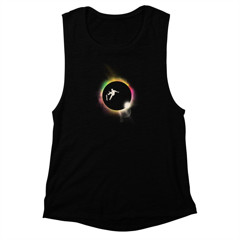 Skate Eclipse Women's Muscle Tank by azrhon's Artist Shop