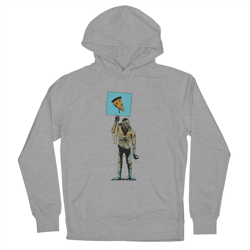 I want Pizza Men's Pullover Hoody by azrhon's Artist Shop