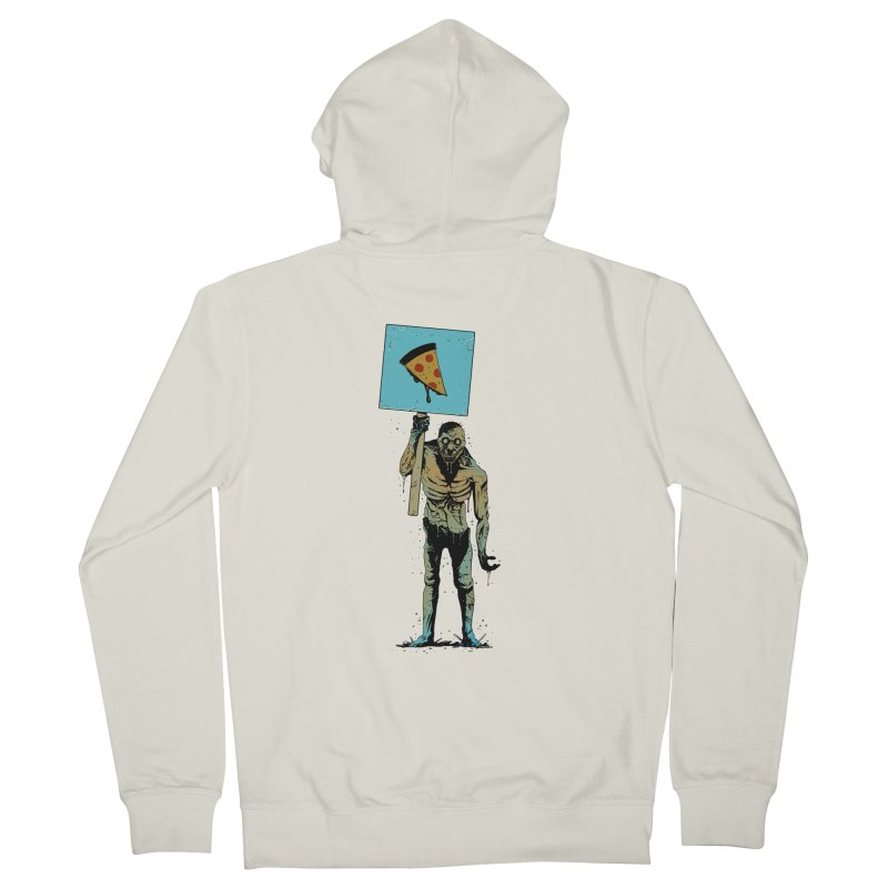 I want Pizza Men's Zip-Up Hoody by azrhon's Artist Shop