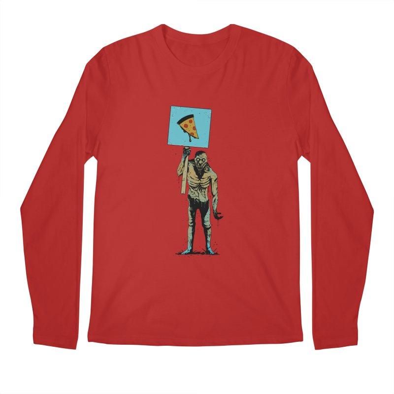 I want Pizza Men's Longsleeve T-Shirt by azrhon's Artist Shop