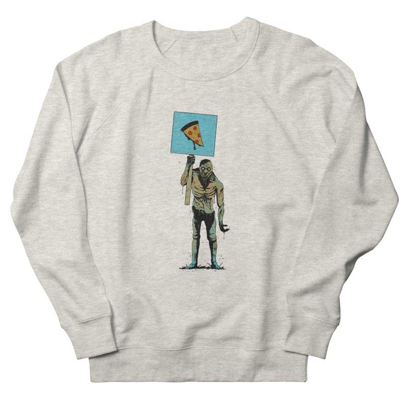 I want Pizza Men's Sweatshirt by azrhon's Artist Shop