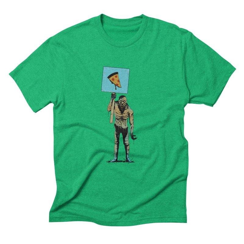 I want Pizza Men's Triblend T-shirt by azrhon's Artist Shop