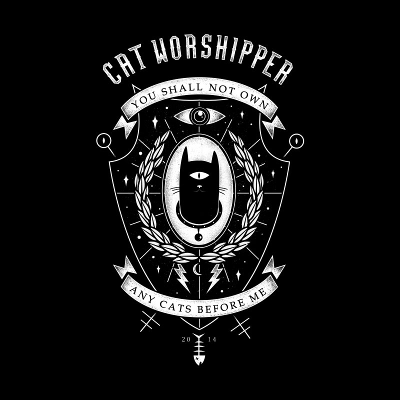 Cat Worshipper None  by azrhon's Artist Shop