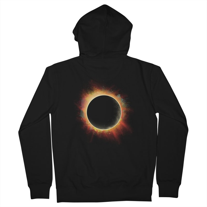 Colors of Eclipse Women's Zip-Up Hoody by azrhon's Artist Shop