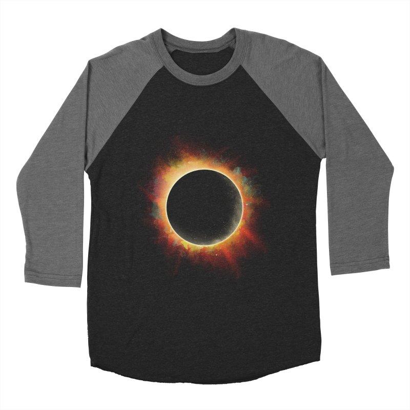 Colors of Eclipse Women's Baseball Triblend T-Shirt by azrhon's Artist Shop