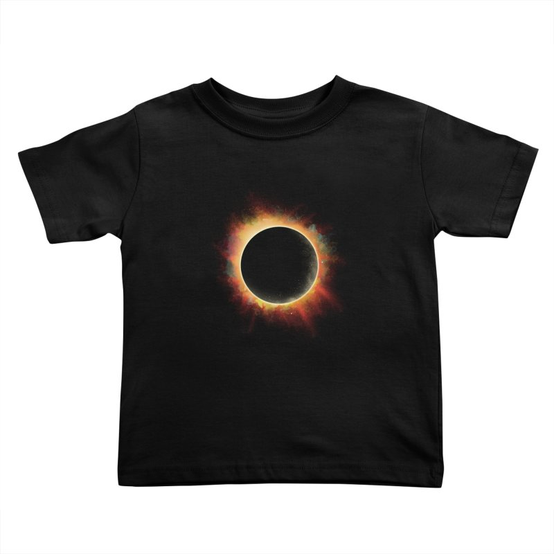 Colors of Eclipse Kids Toddler T-Shirt by azrhon's Artist Shop