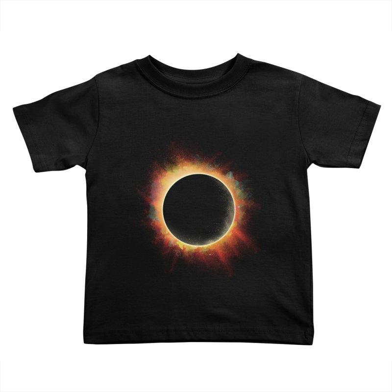 Colors of Eclipse Kids Toddler T-Shirt by azrhon's Artist Shop