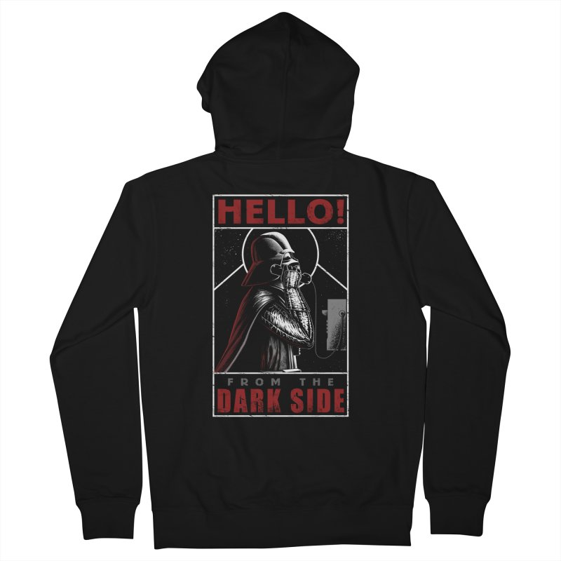 Hello! Women's Zip-Up Hoody by azrhon's Artist Shop