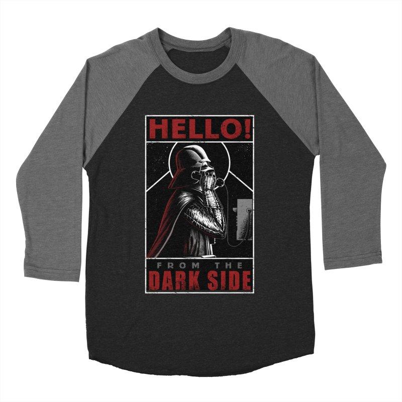 Hello! Women's Baseball Triblend T-Shirt by azrhon's Artist Shop