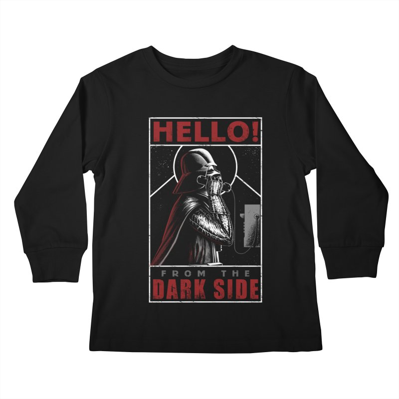 Hello! Kids Longsleeve T-Shirt by azrhon's Artist Shop