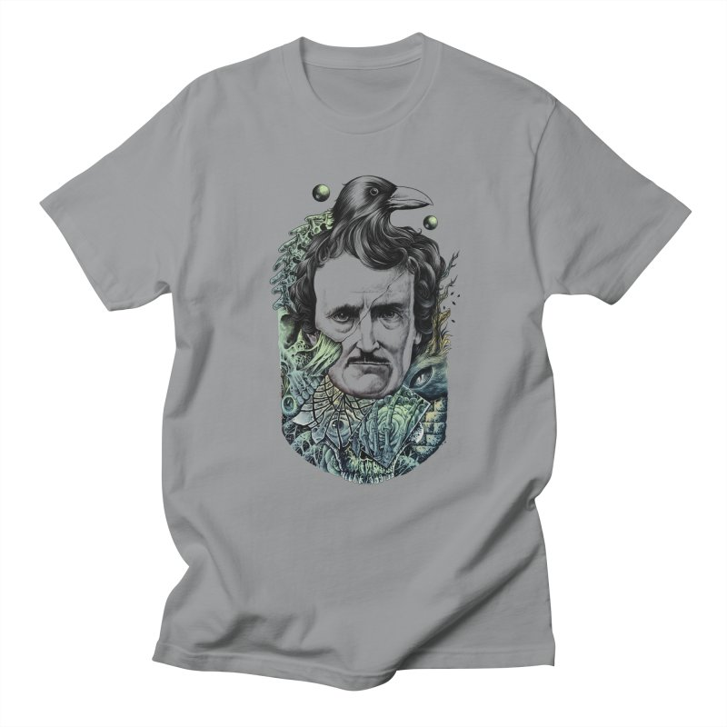 Edgar Allan Poe Men's T-shirt by azrhon's Artist Shop