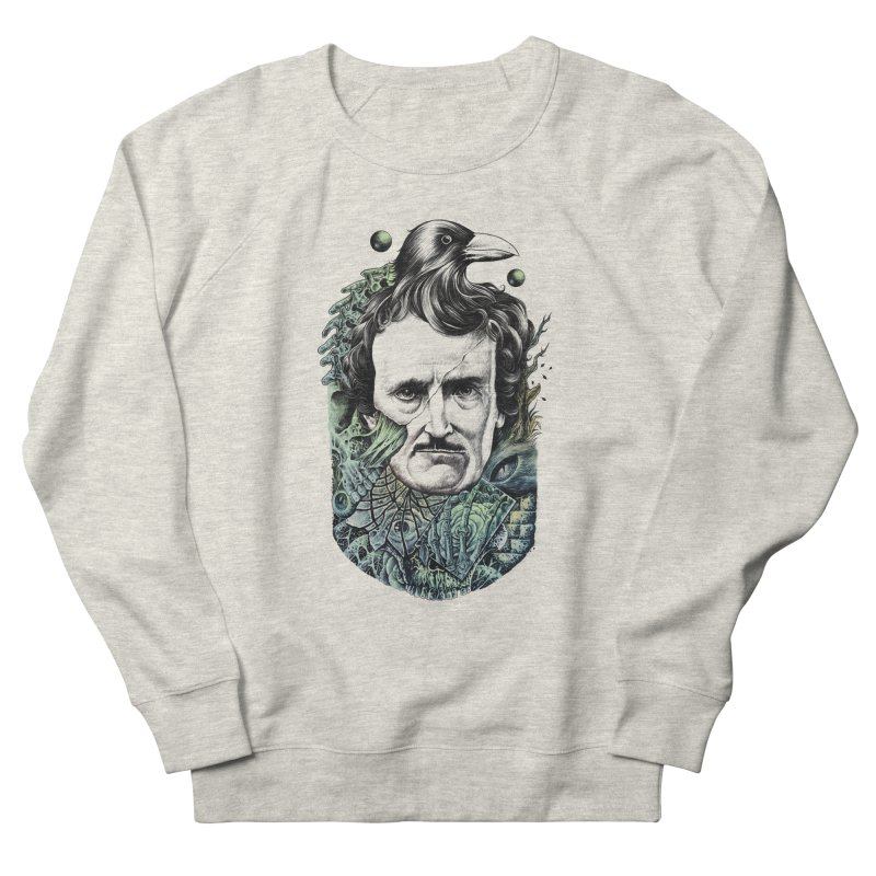 Edgar Allan Poe Women's Sweatshirt by azrhon's Artist Shop