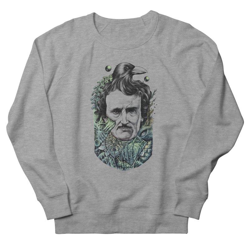 Edgar Allan Poe Men's Sweatshirt by azrhon's Artist Shop